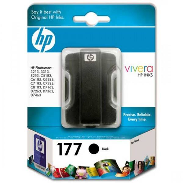 HP 177 Black Original Ink Cartridge - Gadgitechstore.com