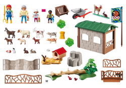 Playmobil CHILDREN'S PETTING ZOO (6635)