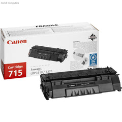 Canon Black 715 &715H Toner Cartridge