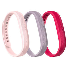 Fitbit Pack of 3 Classic Bands for Fitbit Flex 2