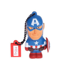 Tribe Marvel Captain America Flash Drive