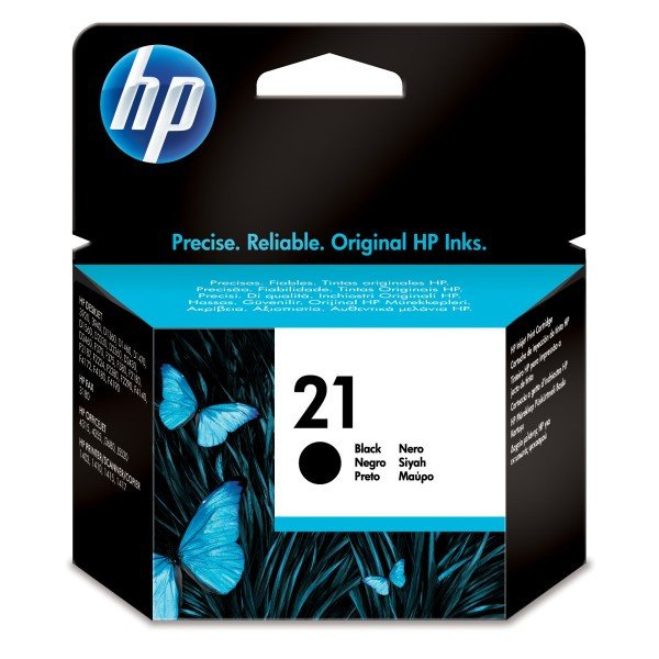 HP 21 Black Original Ink Cartridge - Gadgitechstore.com