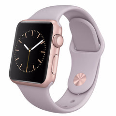 Apple Watch Sport Silver Aluminum Case 38MM