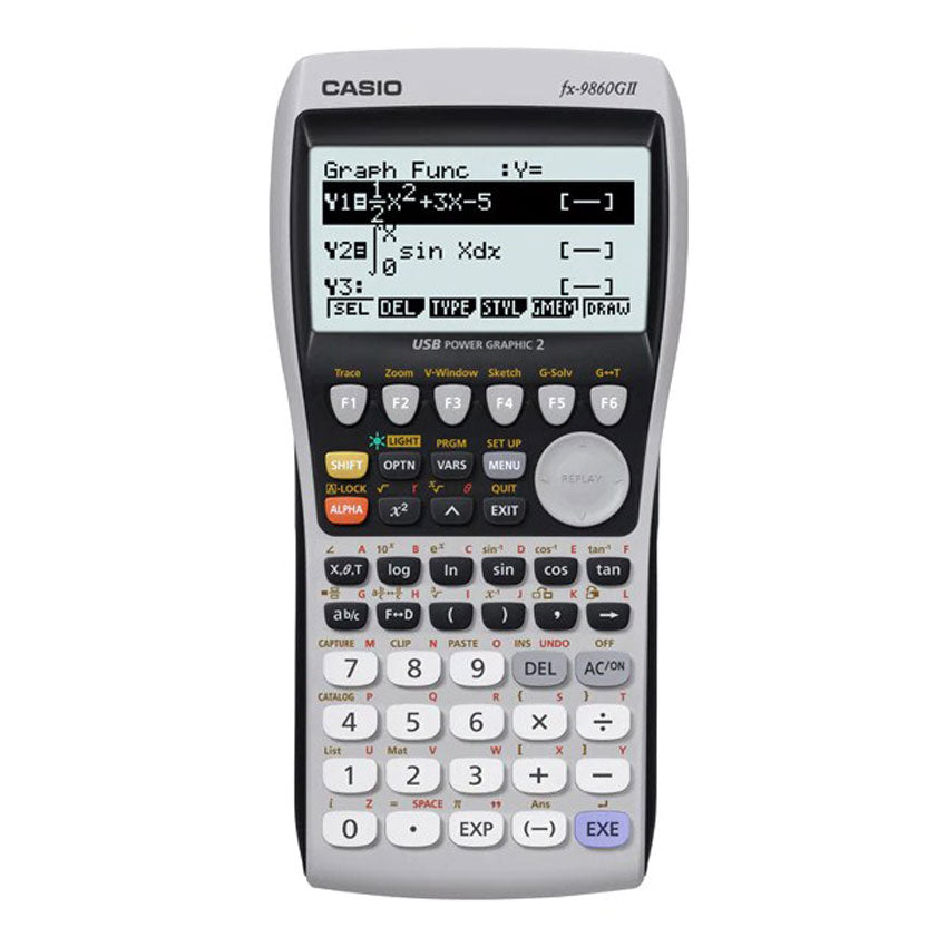 Casio Graphing Calculator FX-9860G II