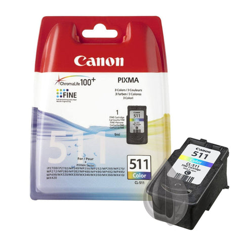 Canon PG-510 & CL-511 Ink Cartridge