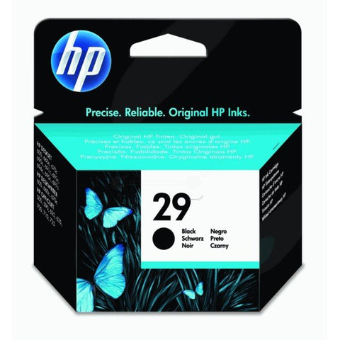 HP 29 Large Black Original Ink Cartridge - Gadgitechstore.com
