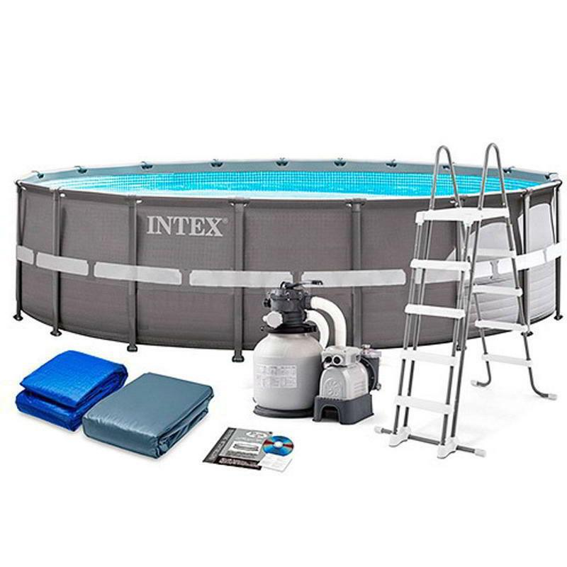 Intex Ultra Frame Pool Set - 5.49 X 1.32m