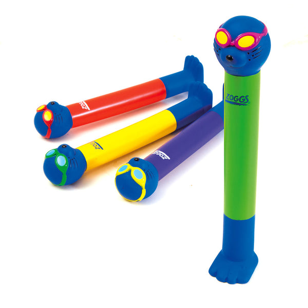 Zoggs Kids' Swimming Zoggy Dive Sticks