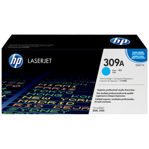HP 309A Original LaserJet Toner Cartridge