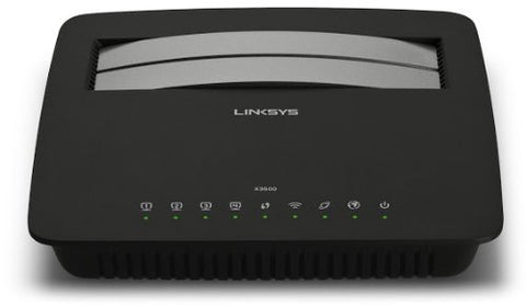 Linksys X3500 N750 Dual-Band Wireless Modem/Router - GadgitechStore.com Lebanon - 1