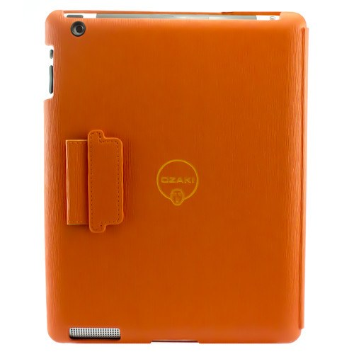 Ozaki IC510OG iCoat Notebook for iPad 3/4 Orange - Gadgitechstore.com