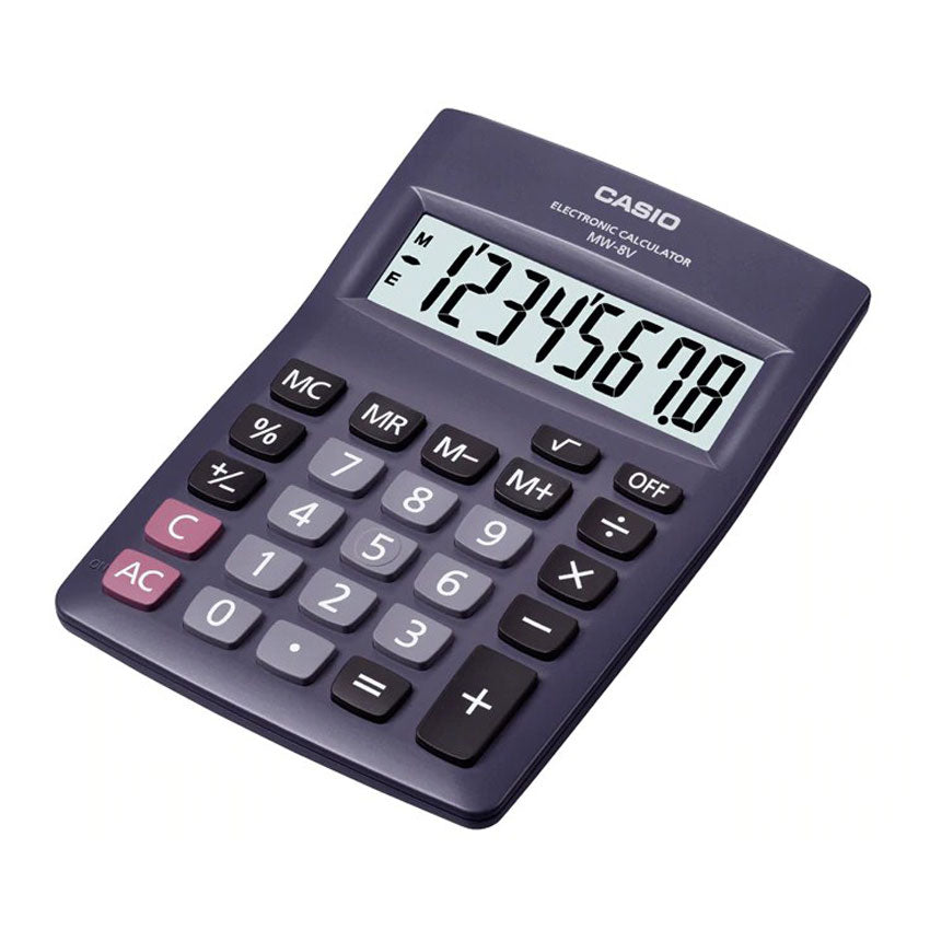 Casio Electronic Calculator MW-8V