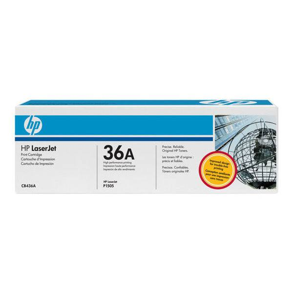 HP 36A Black Original LaserJet Toner Cartridge - Gadgitechstore.com
