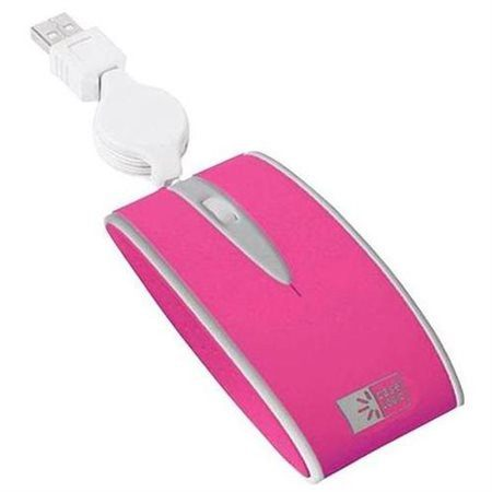 Case Logic Slim Travel Optical Mouse with Retractable Cable - Gadgitechstore.com