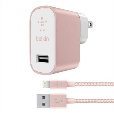 Belkin Universal Home Charger with Lightning Cable - Gadgitechstore.com