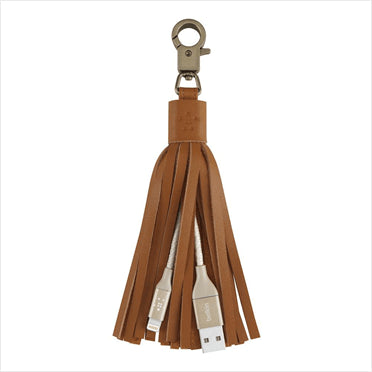 Belkin MIXIT  Lightning-to-USB Leather Tassel - GadgitechStore.com Lebanon