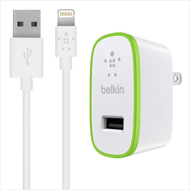 Belkin Home Charger with Lightning Cable 2.1A - GadgitechStore.com Lebanon - 2