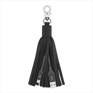 Belkin MIXIT  Lightning-to-USB Leather Tassel - GadgitechStore.com Lebanon - 2