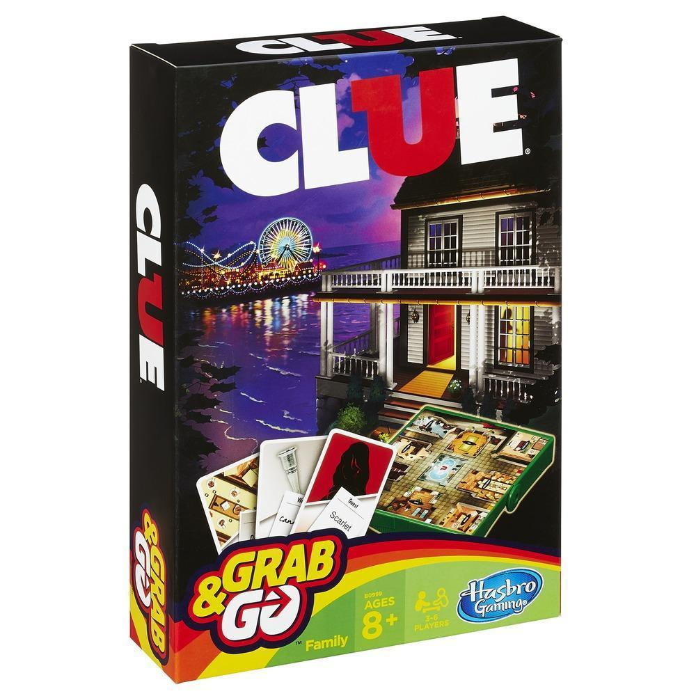 Clue Grab and Go Board Game