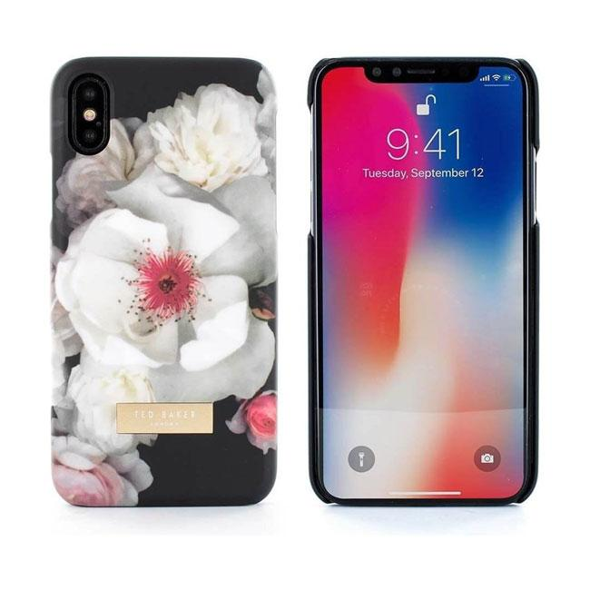 the latest ac5aa 9703a Ted Baker iPhone X Soft Feel Hard Shell Kamala