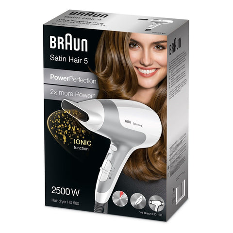 Braun Satin Hair 5 PowerPerfection Dryer HD580