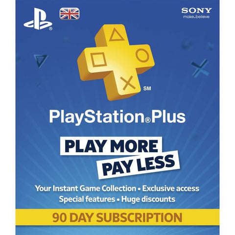 Sony PS4 Playstation Plus Cards - GadgitechStore.com Lebanon - 2