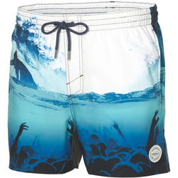 O'Neill Men's Beach Mid Vert Photo Art Swim Shorts