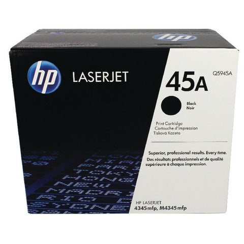 HP 45A Black Original LaserJet Toner Cartridge - Gadgitechstore.com