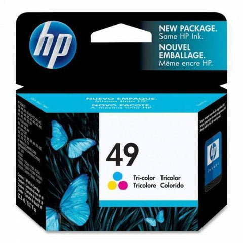 HP 49 Large Tri-color Original Ink Cartridge
