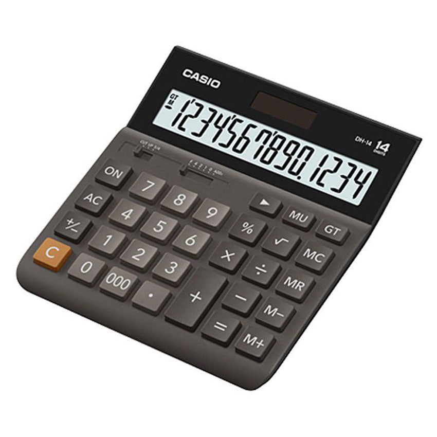 Casio LCD Display Electronic Calculator DH-14BK