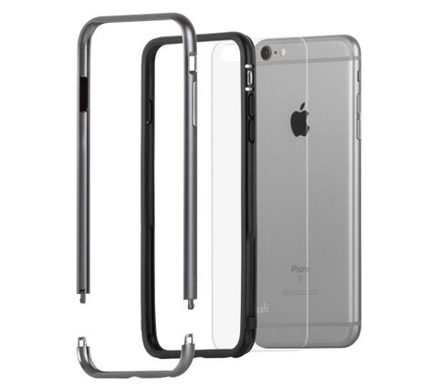 Moshi iGlaze Luxe for iPhone 6/6S Plus Titanium Gray - GadgitechStore.com Lebanon - 3