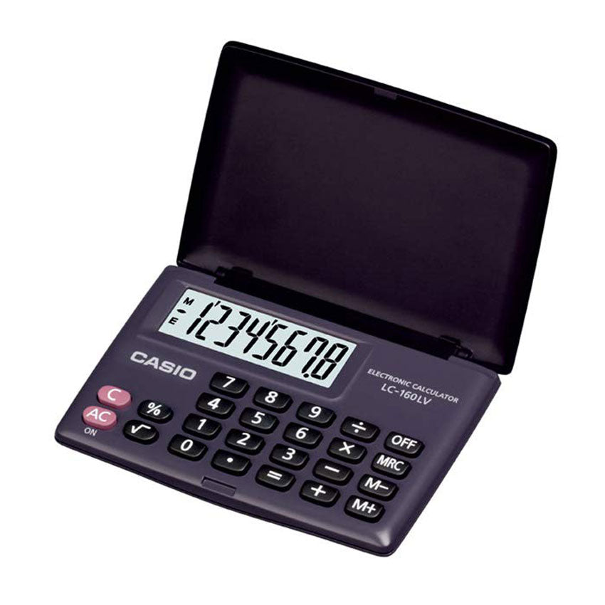Casio Hand Held Calculator LC-160LV