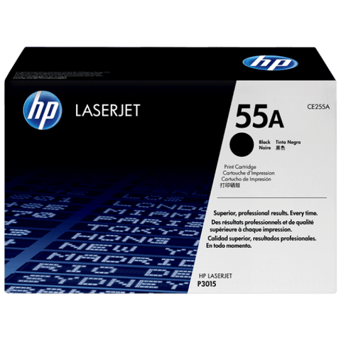 HP 55A Black Original LaserJet Toner Cartridge