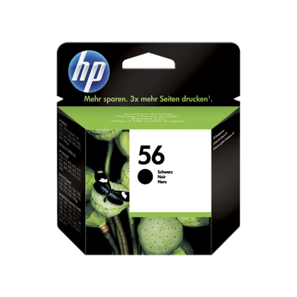 HP 56 Black Original Ink Cartridge - Gadgitechstore.com