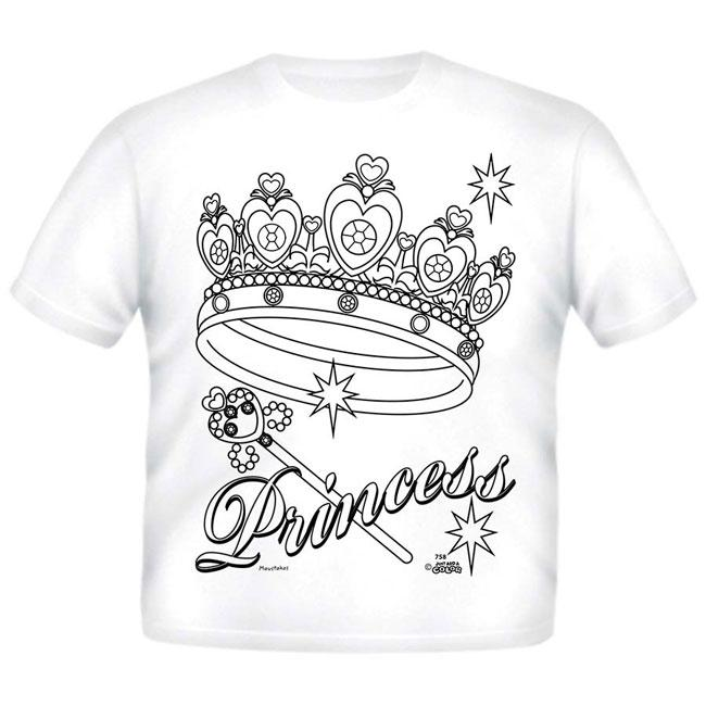 Just Add A Color Princess AC T-Shirt