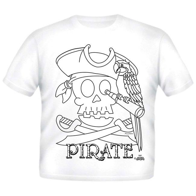 Just Add A Color Pirate AC T-Shirt