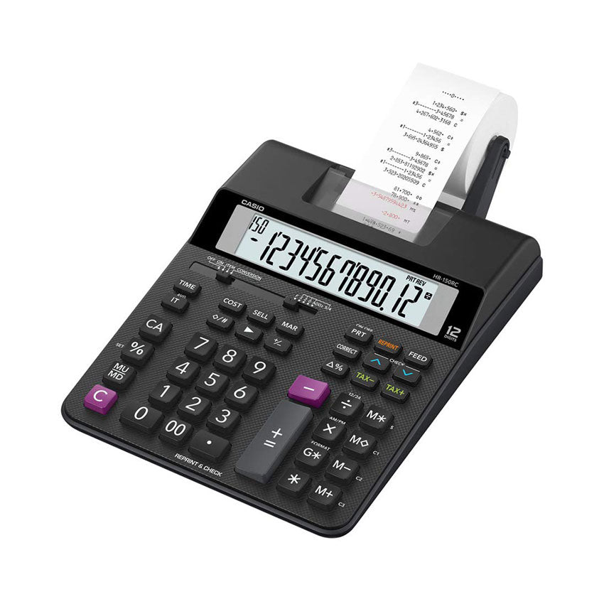 Casio Printing Calculator HR-150RC