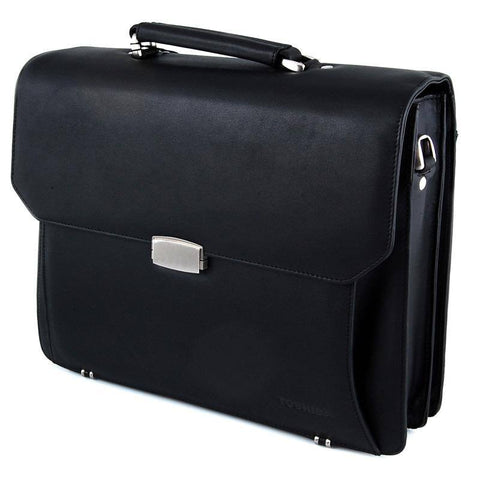 "Toshiba Nero Leather Case - Black 13"", 14"" - GadgitechStore.com Lebanon"