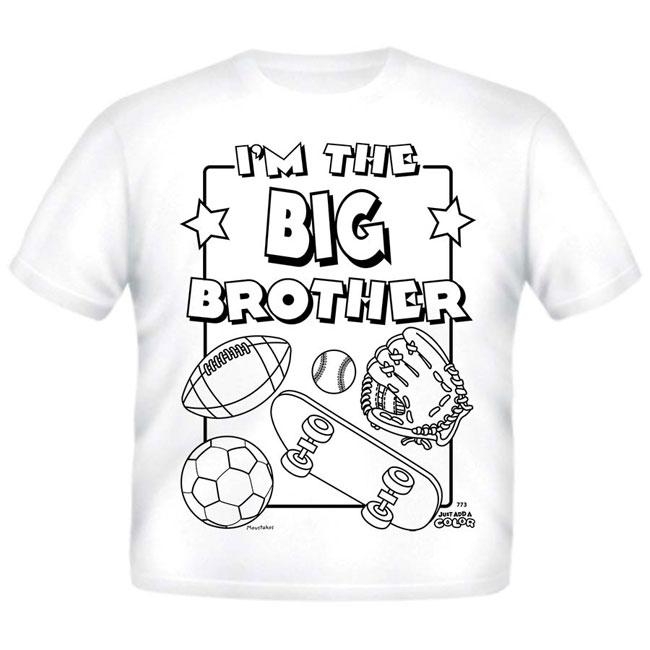 Just Add A Color Big Brother AC T-Shirt