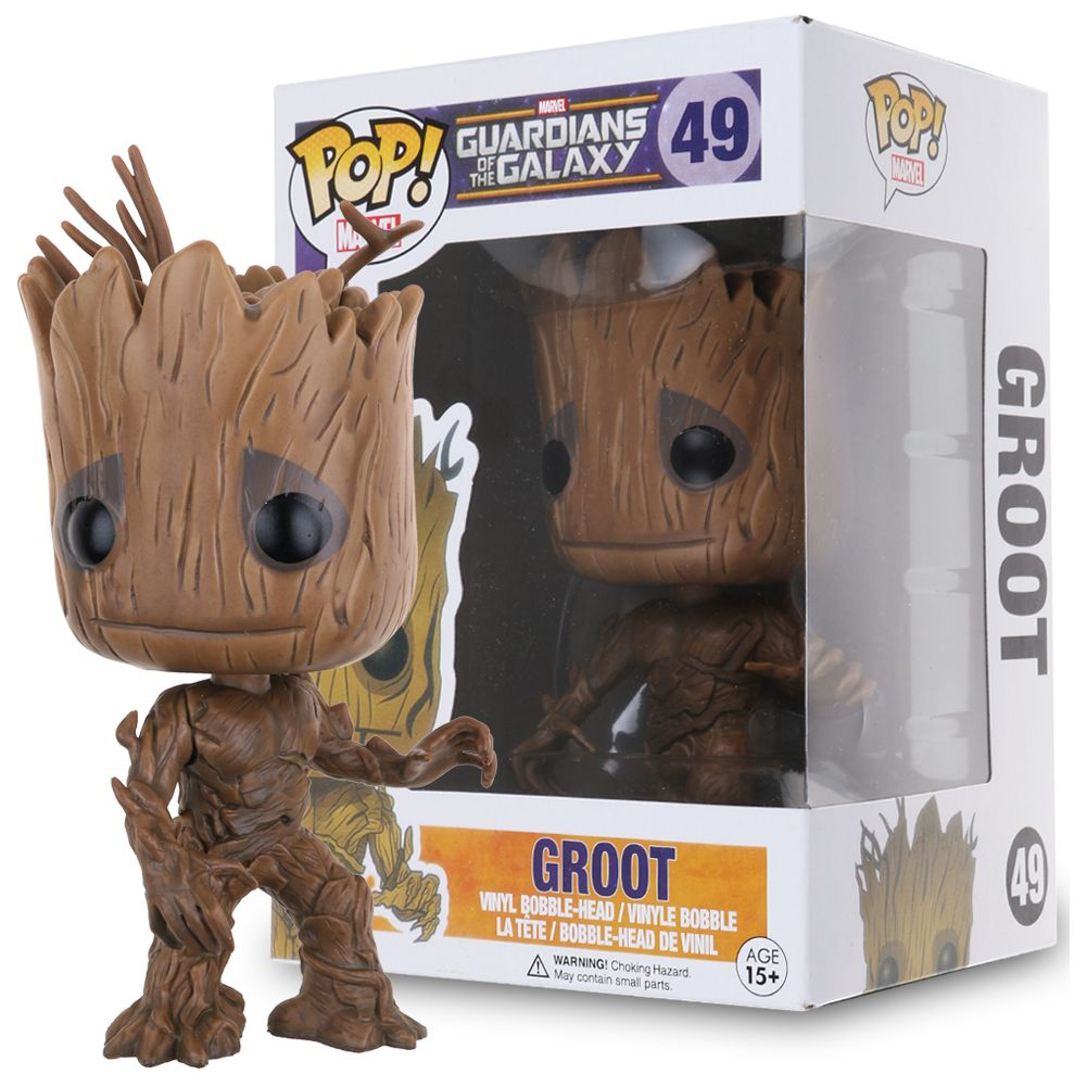 FUNKO POP! Bobble: Marvel: Guardians O/T Galaxy 2: Groot