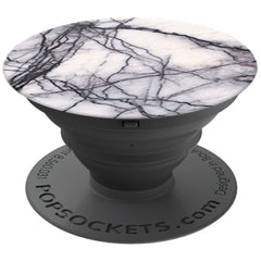 PopSockets Expanding Stand and Grip ( White Marble  )