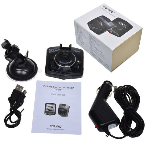 "TOGUARD Mini Car DVR Camera 2.4"" Full HD 1080P Dashcam - GadgitechStore.com Lebanon - 4"