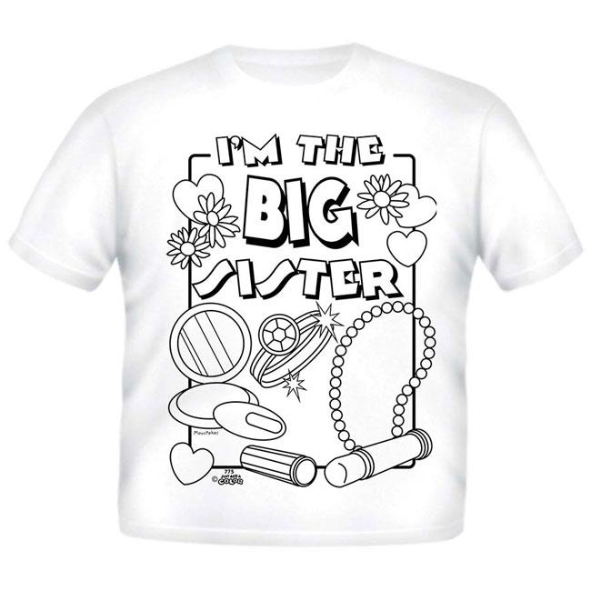 Just Add A Color Big Sister AC T-Shirt