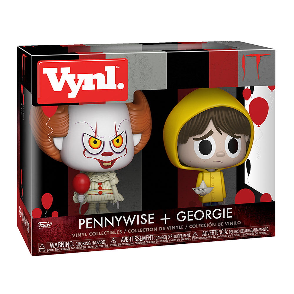 FUNKO VYNL: IT - Pennywise & Georgie