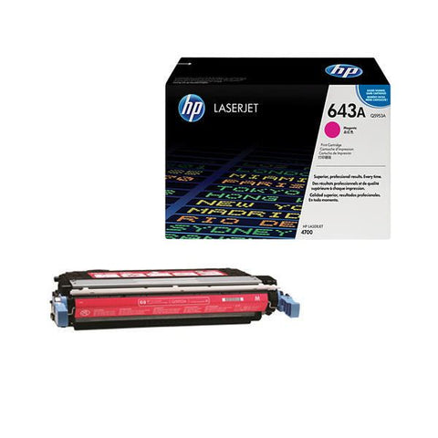 HP 643A Original LaserJet Toner Cartridge
