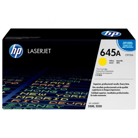 HP 645A Original LaserJet Toner Cartridge