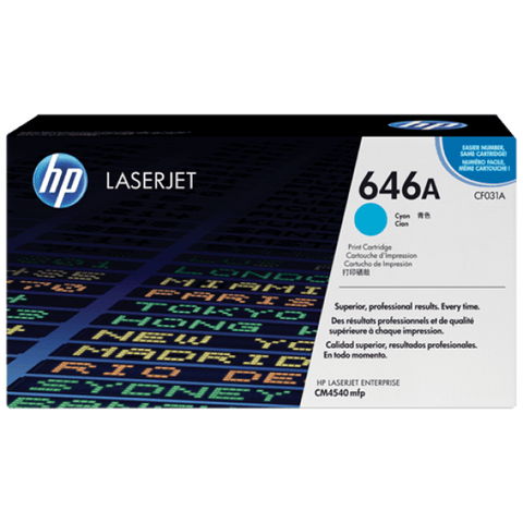 HP 646A Original LaserJet Toner Cartridge