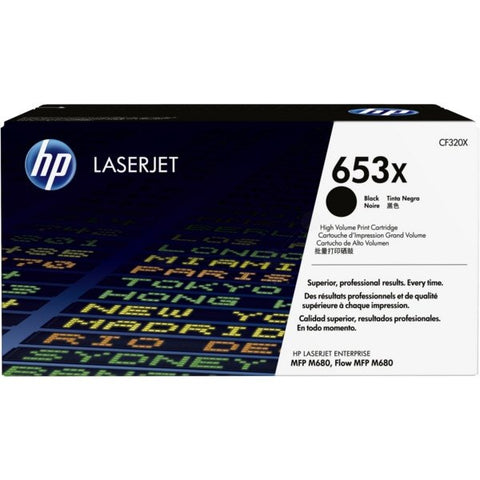 HP 653X High Yield Black Original LaserJet Toner Cartridge - Gadgitechstore.com