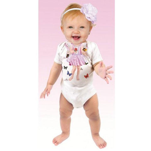 Just Add A Kid Butterfly Fairy One Piece Romper