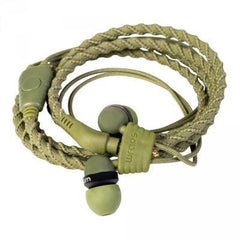 Wraps Wristband Earphones with Microphone - GadgitechStore.com Lebanon - 1
